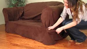 How To Install A 2 Piece Relaxed Fit Slipcover By Caber Sure Fit