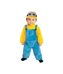 Cool Boys Halloween Costumes Despicably Cute Minion Bob Toddler Boys Costume Movie Costumes
