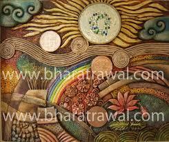 mural art by muralguru bharat rawal 2012