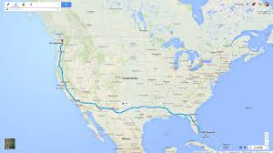 Alabama travel distance images The crew 39 s travel distances compared to the real world 3 893 jpg