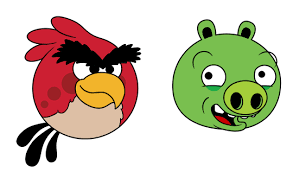 draw angry birds characters