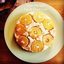 vegan pineapple upside down cake peaceful dumpling