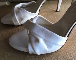 Wedding Shoes Off White Bridal Shoes Etsy