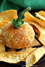 appetizer halloween vegan cheese ball cheddar cheese ball vegan richa