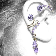 ear wraps 44 best ear cuff ear wraps ear huggers ear vines images on