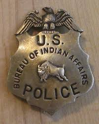us bureau of indian affairs us bureau of indian affairs badge bw 23 sheriff