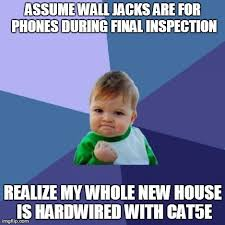 Wireless Meme - just bought my first home and thought i d be setting up an all
