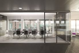 mesmerizing glass office walls partitions custom glass wall in