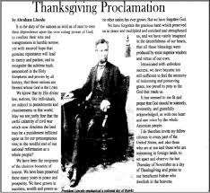 who declared thanksgiving a f f info 2017