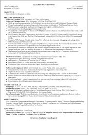 Sample Resume Senior Software Engineer by Unix Resume Free Resume Example And Writing Download