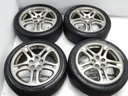 jdm subaru legacy used jdm legacy b4 double spoke oem wheels forester wheels 5x100