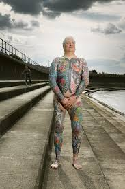 photos chronicle heavily tattooed people both covered up and