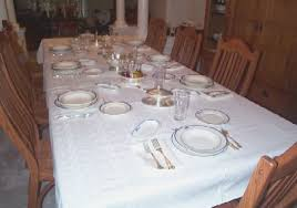 how to set a table with silverware u s navy silverware kings design pattern with fouled anchor for