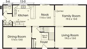 2 story 4 bedroom house plans simple 4 bedroom 2 story house plans nikura