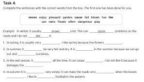 trinity portfolio task a descriptive essay about the weather