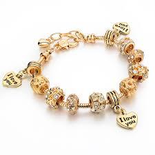 snake bracelet charms images Charm 3 hearts pandora bracelet snake bangles ken bracelets shop jpg
