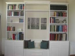 furniture 20 best photos diy built in bookcases with window seat