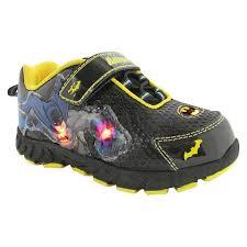 light up shoes light up batman sandals are available at honeypiekids com