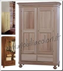 comodini grezzi da decorare mobili in legno al naturale varese