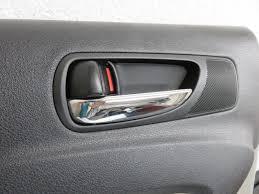lexus oem interior parts 06 12 lexus is250 is350 rear left driver interior door panel grey