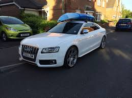 audi a5 roof roof rack on with kayack audi a5 forum audi s5 forum