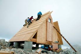 a frame cabin designs wooden a frame cabin crowns alpine mountaintop