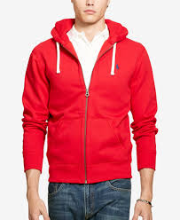 polo ralph lauren men u0027s hoodie core full zip hooded fleece