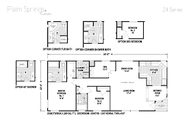 Karsten Homes Floor Plans Palm Springs Series 5starhomes Manufactured Homes