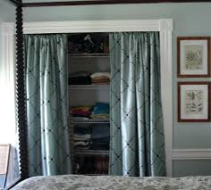 Curtains As Closet Doors Curtains For Closet Doors It Guide Me