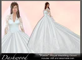 wedding dress version second marketplace kate royal wedding gown demo royal