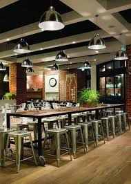 Country Rustic Restaurant Interior And Bar ExteriorInterior - Interior design rustic style