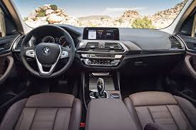 2018 bmw x3 interior dash the fast lane car