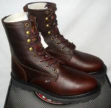 s justin boots on sale justin work boots mens premium lace up toe wk905 ebay