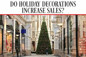 do decorations increase sales