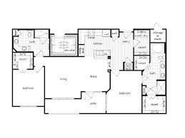 two bed two bath floor plans 2 bedroom apartment floor plans best home design ideas