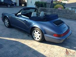 porsche 964 cabriolet for sale porsche 911 964 carrera 2 cabriolet manual transmission 1990 h
