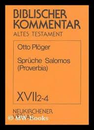 sprüche salomos 9783788706708 spru che salomos proverbia biblischer kommentar