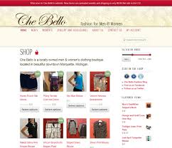 online boutique che bello boutique expands with online shop middle ear media