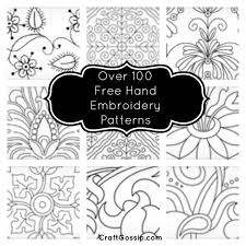 over 100 free hand embroidery patterns craft ideas pinterest