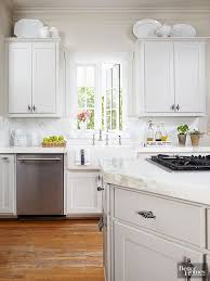 modern decorating ideas above kitchen cabinets ideas for decorating above kitchen cabinets better homes