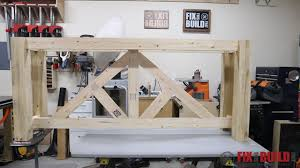 build a console table diy truss sofa table fixthisbuildthat