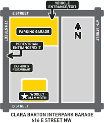Washington Dc Parking Map by Woolly Mammoth Theatre Company Parking