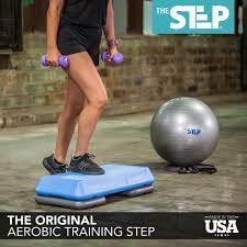 the step original body fusion aerobic platform and accessories