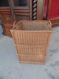14b15053 tall square wicker basket 2 lots of furniture