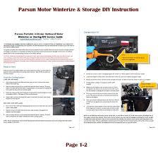 amazon com parsun 6hp portable 4 stroke outboard motor 15