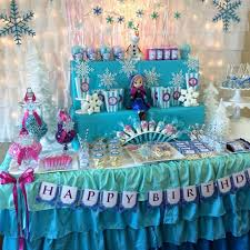 Party Table Decorating Ideas Best 25 Frozen Table Decorations Ideas On Pinterest Frozen