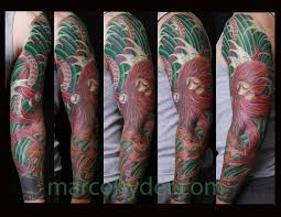 octopus sleeve by marco hyder tattoonow