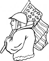 veterans day coloring pages printable free veterans day clip art to color over 400 free printable
