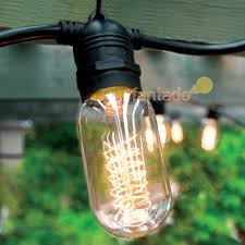Shatterproof Light Bulbs 10 Socket Outdoor Commercial String Light Set Shatterproof Led