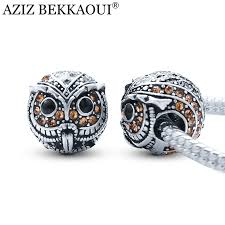 beaded silver bracelet pandora images Pandora charms owl pandorafactory jpg